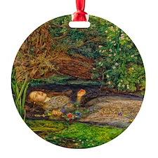 Millais: Drowning Ophelia Ornament