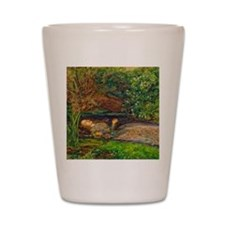 Millais: Drowning Ophelia Shot Glass