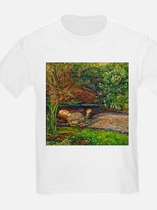 Millais: Drowning Ophelia T-Shirt