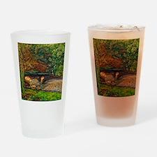 Millais: Drowning Ophelia Drinking Glass