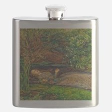 Millais: Drowning Ophelia Flask