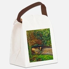 Millais: Drowning Ophelia Canvas Lunch Bag