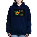 Earth Laughs in Flowers Women's Hooded Sweatshirt