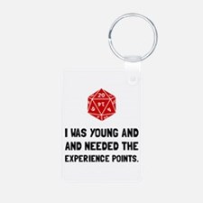 Experience Points Keychains