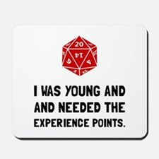 Experience Points Mousepad