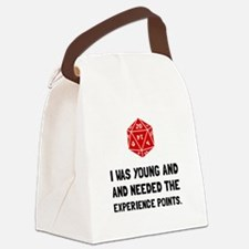 Experience Points Canvas Lunch Bag
