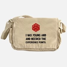 Experience Points Messenger Bag