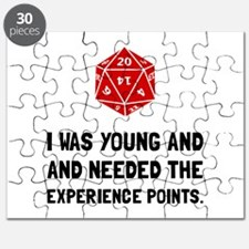 Experience Points Puzzle