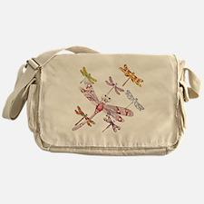 Dragonflies Messenger Bag