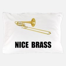 Nice Brass Trombone Pillow Case
