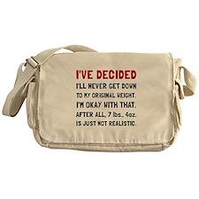 Original Weight Messenger Bag
