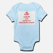 Keep calm and listen to GREGORIAN CHANT Body Suit