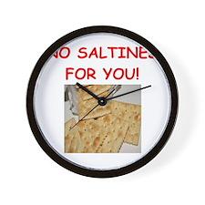 saltines Wall Clock