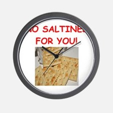 saltines Wall Clock