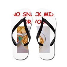 snack mix Flip Flops