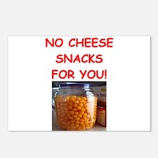 cheese snack Postcards (Package of 8)