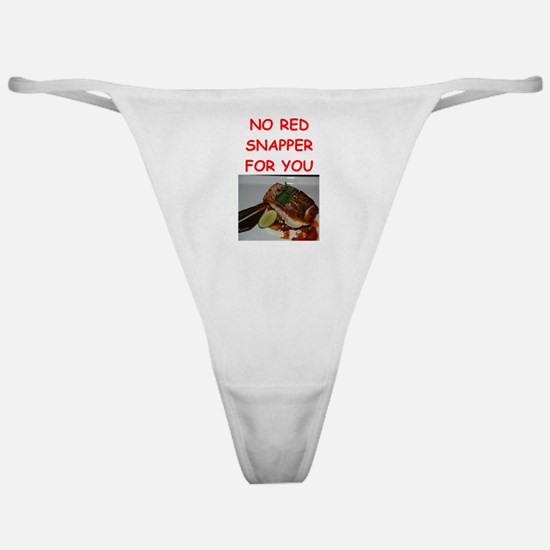 red snapper Classic Thong