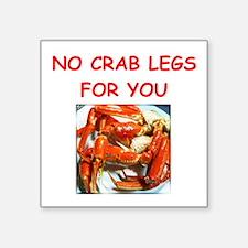 crab legs Sticker
