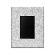Silver Gray Glitter Sparkles Picture Frame
