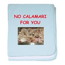 calamari baby blanket
