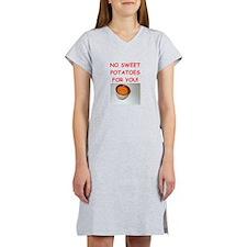 sweet potato Women's Nightshirt