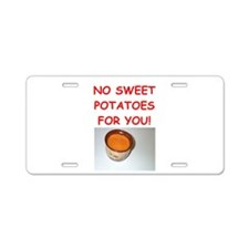 sweet potato Aluminum License Plate