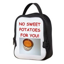 sweet potato Neoprene Lunch Bag