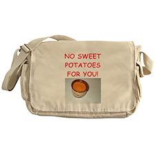 sweet potato Messenger Bag
