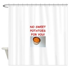 sweet potato Shower Curtain