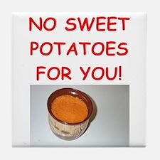 sweet potato Tile Coaster