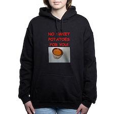 sweet potato Women's Hooded Sweatshirt