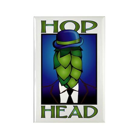 Hop Head Rectangle Magnet