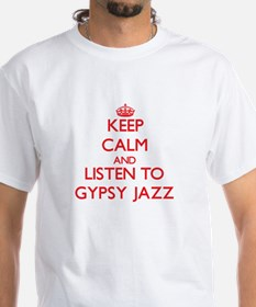 Keep calm and listen to GYPSY JAZZ T-Shirt