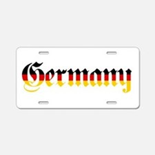 Germany in Flag Colors Aluminum License Plate