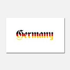 Germany in Flag Colors Car Magnet 20 x 12