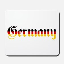 Germany in Flag Colors Mousepad