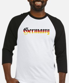 Germany in Flag Colors Baseball Jersey