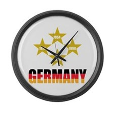 Germany Soccer Large Wall Clock