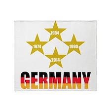 Germany Soccer Throw Blanket