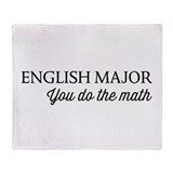 English major Blankets