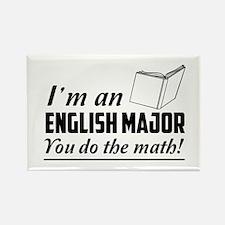 English major you do the math Magnets