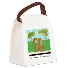 Cute Prius Canvas Lunch Bag