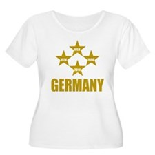 Germany Soccer Plus Size T-Shirt