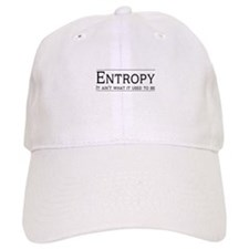 Entropy: its not what it used to be Baseball Baseball Cap