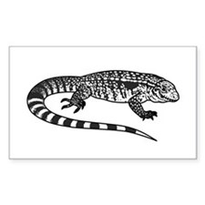 Black And White Tegu Decal