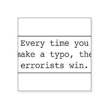 Errorists Sticker