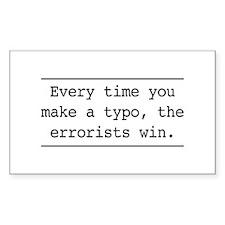 Errorists Decal