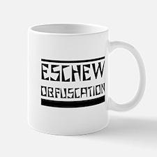 Eschew Obfuscation Mugs