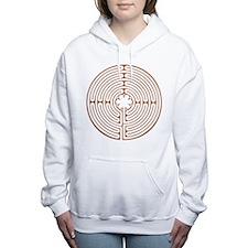Chartres Labyrinth Women's Hooded Sweatshirt