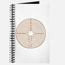Brown Chartres Labyrinth Journal